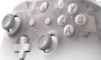 Xbox One : la belle manette Phantom White en quelques clichés somptueux