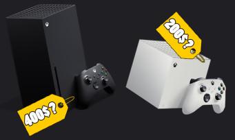 Xbox Series X : la console à 400 dollars, la Series S à seulement 200$ ?