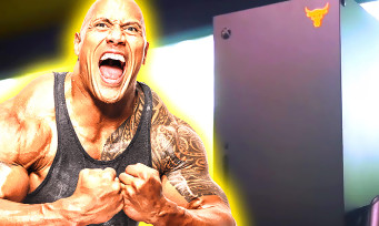 "Xbox Series X : une console collector Dwayne ""The Rock"" Johnson"