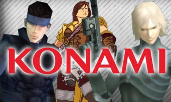 Konami : de vieux jeux, dont Metal Gear Solid, ressortent sur PC