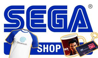 SEGA : la firme lance son e-shop européen avec une tonne de goodies