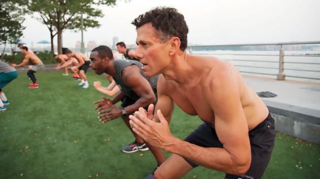 Strauss Zelnick, PDG de Take Two, en pleine séance de fitness