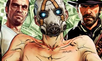 Take Two : voici les ventes de Borderlands 3, GTA V et Red Dead Redemption 2