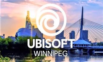 Ubisoft : un nouveau studio ouvre à Winnipeg, au Canada