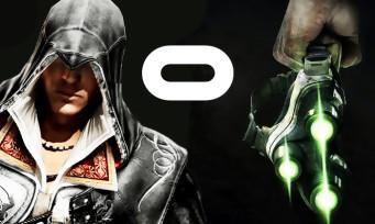 Splinter Cell : un nouveau jeu VR pour Oculus, pareil pour Assassin's Creed