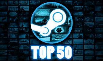 Steam : voici le classement des jeux les plus joués de tous les temps