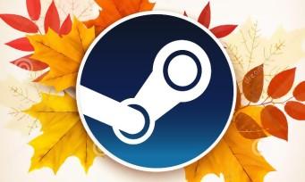 Steam : les soldes d'automne ont débuté, la fin dans cinq jours