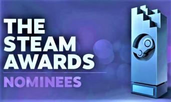 Steam Awards : voici la liste des nommés pour l'édition 2018 !