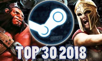 Steam : découvrez les jeux qui se sont le mieux vendus en 2018 !