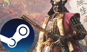 Charts Steam : le meilleures ventes de jeux PC début avril !