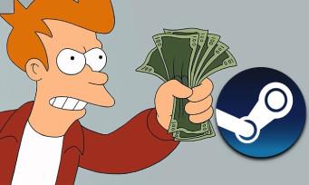 Steam : des offres de malade pour les soldes d'été