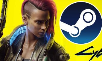 Charts Steam : Cyberpunk 2077 toujours meilleure vente