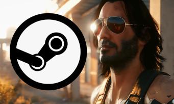 Charts Steam : Cyberpunk 2077 continue de se vendre malgré le bad buzz