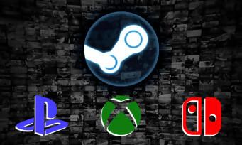 Steam : les jeux de la plateforme bientôt sur PlayStation, Xbox et Switch