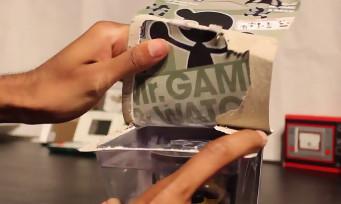 amiibo : un unboxing sauvage de Mr Game & Watch avec 2 mois d'avance
