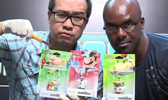 amiibo : unboxing de Capitaine Olimar, Dr Mario et Bowser Jr