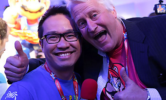 E3 2014 : rencontre avec Charles Martinet, la voix de Mario