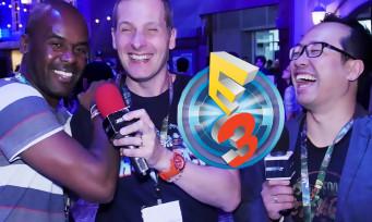 E3 2016 : l'équipe de JEUXACTU avec Marcus, comme au bon vieux temps !