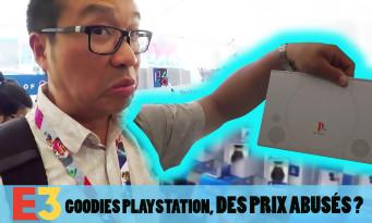 E3 2018 : des prix abusés sur le stand goodies PlayStation ? La visite