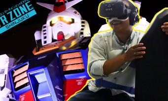 Tokyo Game Show : on a testé tous les jeux de la VR Zone de Shinjuku