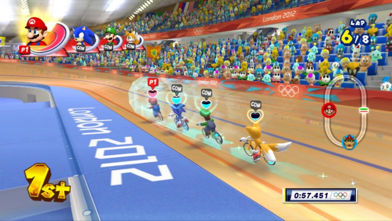 Test Mario Sonic Aux Jo De Londres 2012