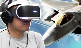 Ace Combat 7 : on y a joué avec le PS VR sur la tête, vomi assuré ?