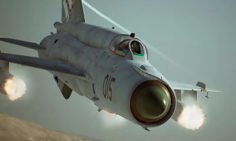 Ace Combat 7 : trailer de gameplay avec le flight stick