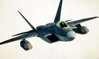 Ace Combat 7 : le F-22A présenté dans une vidéo bien méchante !