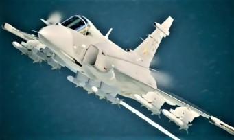 Ace Combat 7 : trailer de gameplay avec le Saab Gripen