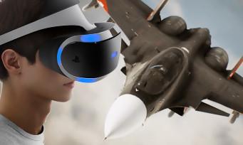 Ace Combat 7 : une vidéo de gameplay en VR a fuité