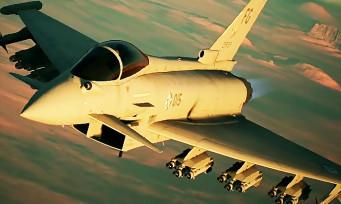 Ace Combat 7 : au Typhoon de s'exposer, un trailer vif mais surpuissant