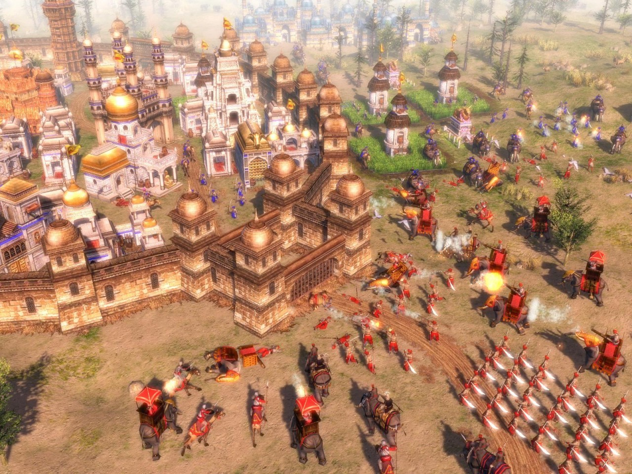 the Age of asian three empires