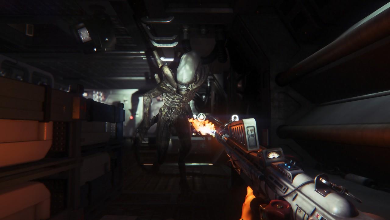 Test alien isolation sur ps et xbox one