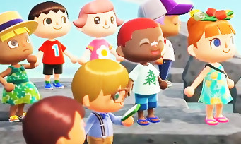 Animal Crossing : voici un trailer de gameplay chatoyant