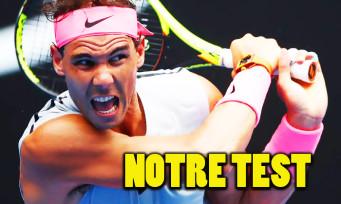 Test AO Tennis (PS4) : catastrophique malgré les mises à jour ?