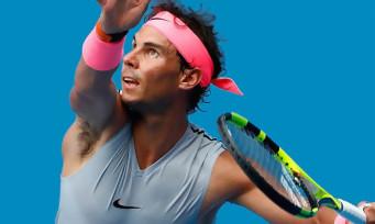 AO Tennis : un trailer de lancement avec Nadal et un petit garçon