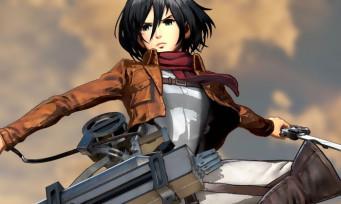 L'Attaque des Titans 2 : une vidéo de gameplay avec Mikasa et Armin