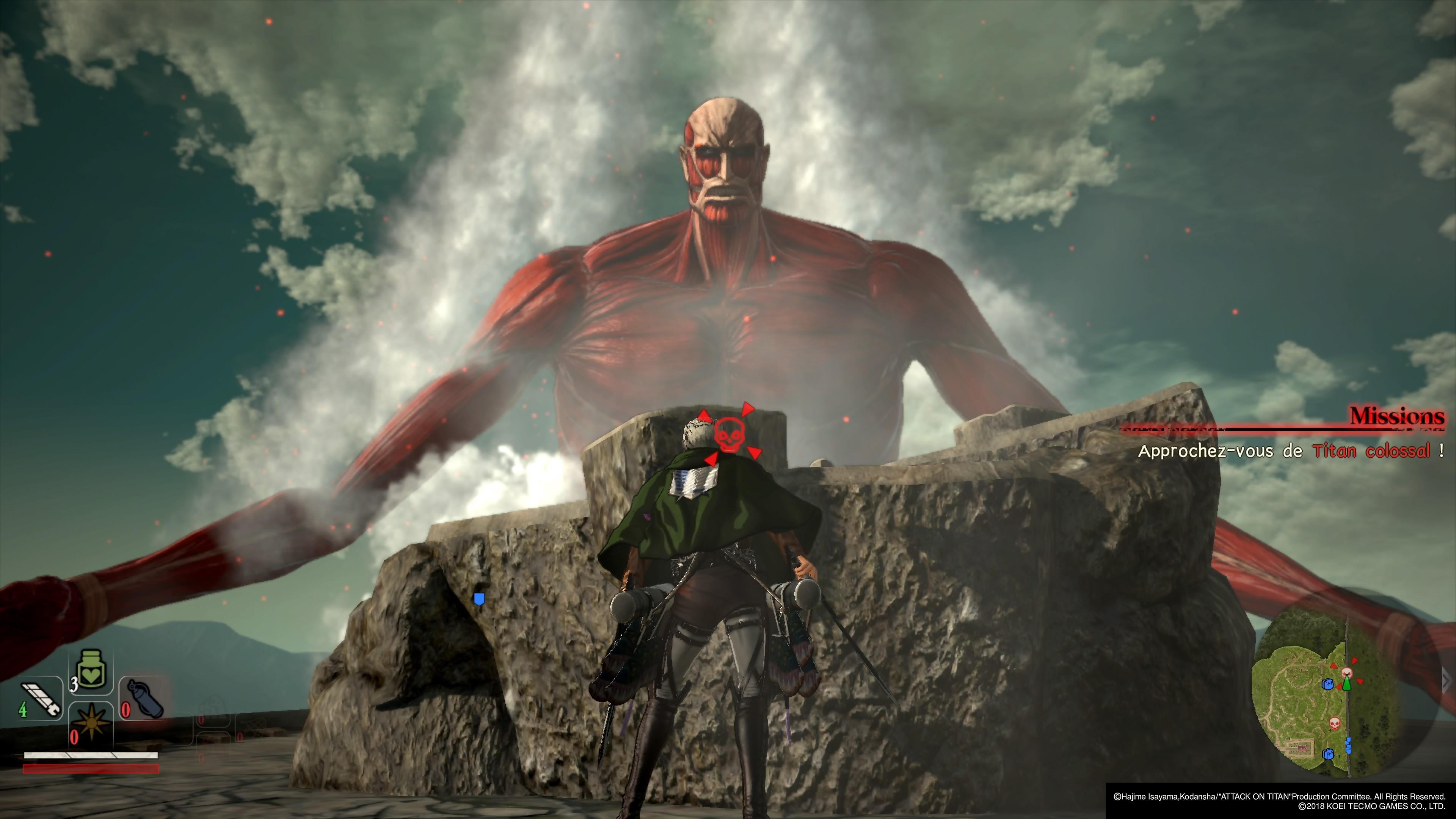 Test L'Attaque des Titans 2 : redondant mais terriblement