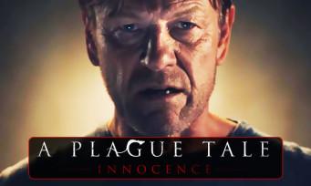 A Plague Tale Innocence : un trailer poignant et poétique avec Sean Bean