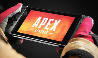 Apex Legends : une 1ère vidéo de gameplay sur Switch, ça pique fort les yeux !