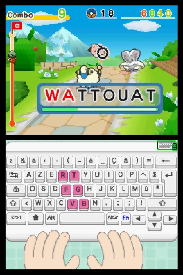 Apprends avec Pokémon : à la conquête du clavier