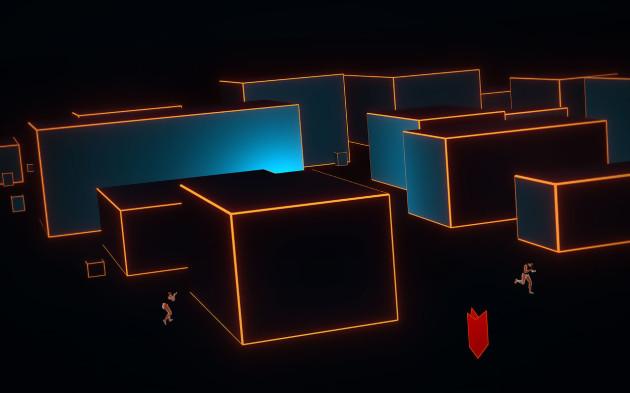 Une image du mode d'entrainement VR