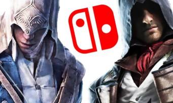 Assassin's Creed : une version Switch de Black Flag et Rogue à venir
