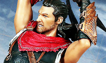 Assassin's Creed Odyssey : 3 figurines bien classes présentées en vidéo