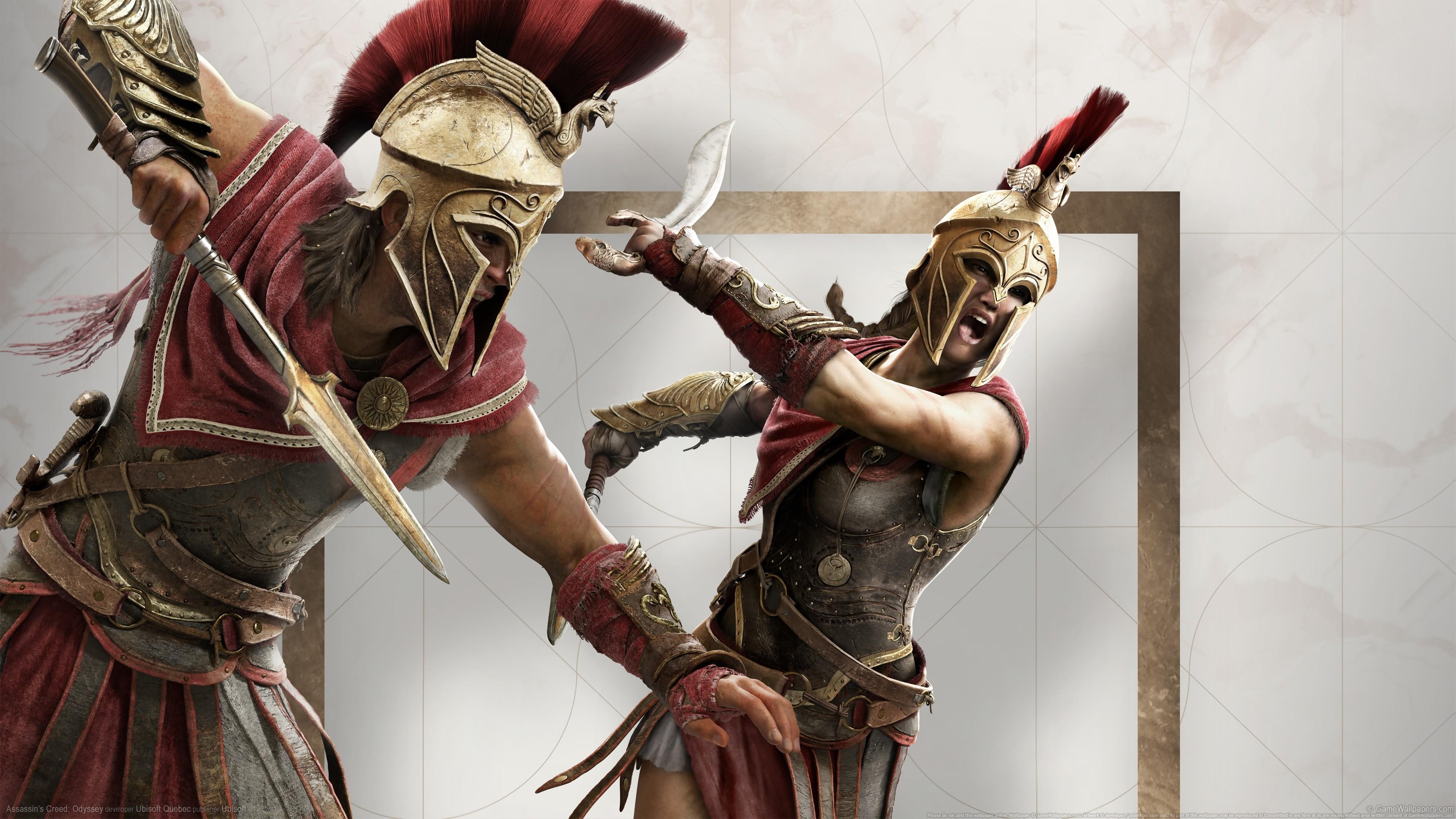 персонажи ассасин крид одиссея