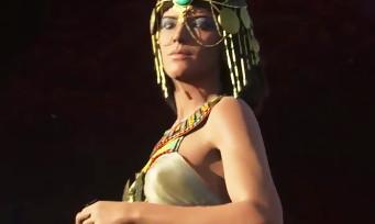 Assassin's Creed Origins : un nouveau trailer avec César et Cléopâtre