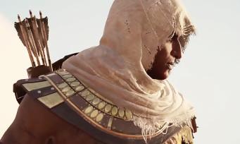 Assassin's Creed Origins : trailer de gameplay avec Bayek en assassin