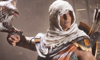 Assassin's Creed Origins : vidéo des figurines de Bayek et d'Aya