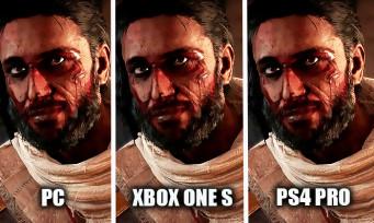 Assassin's Creed Origins : une vidéo comparative PS4 Pro vs. PC