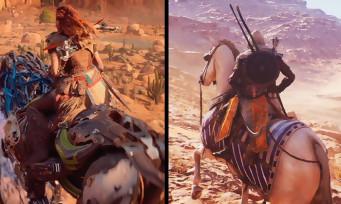 Assassin's Creed Origins VS Horizon : qui a le meilleur open world ?